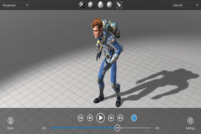 Type of modeling in animation