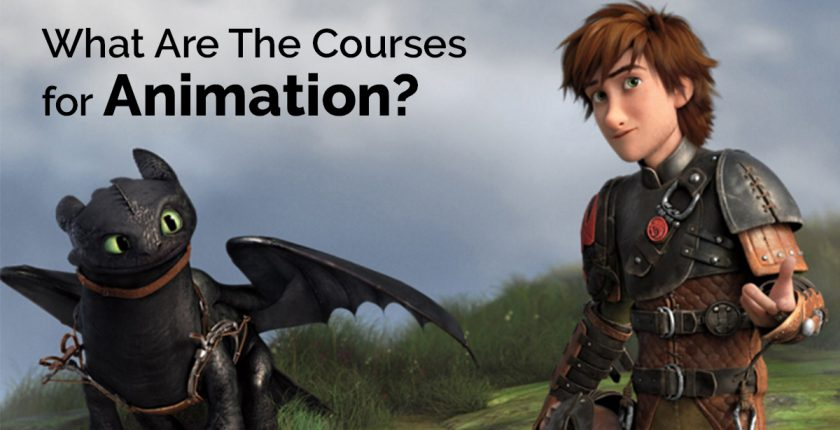 diploma in animation courses
